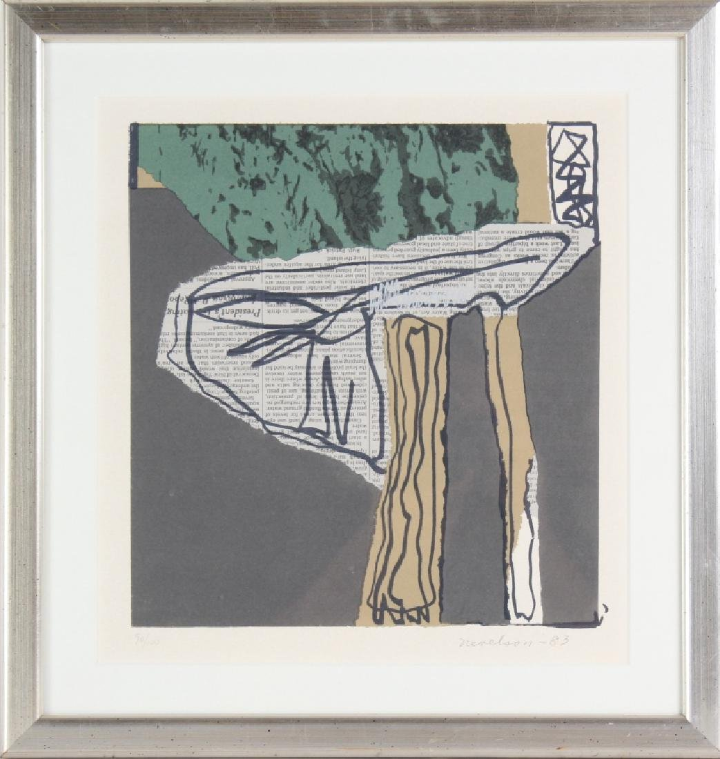 Louise Nevelson (1899-1988) Abstract LE Lithograph