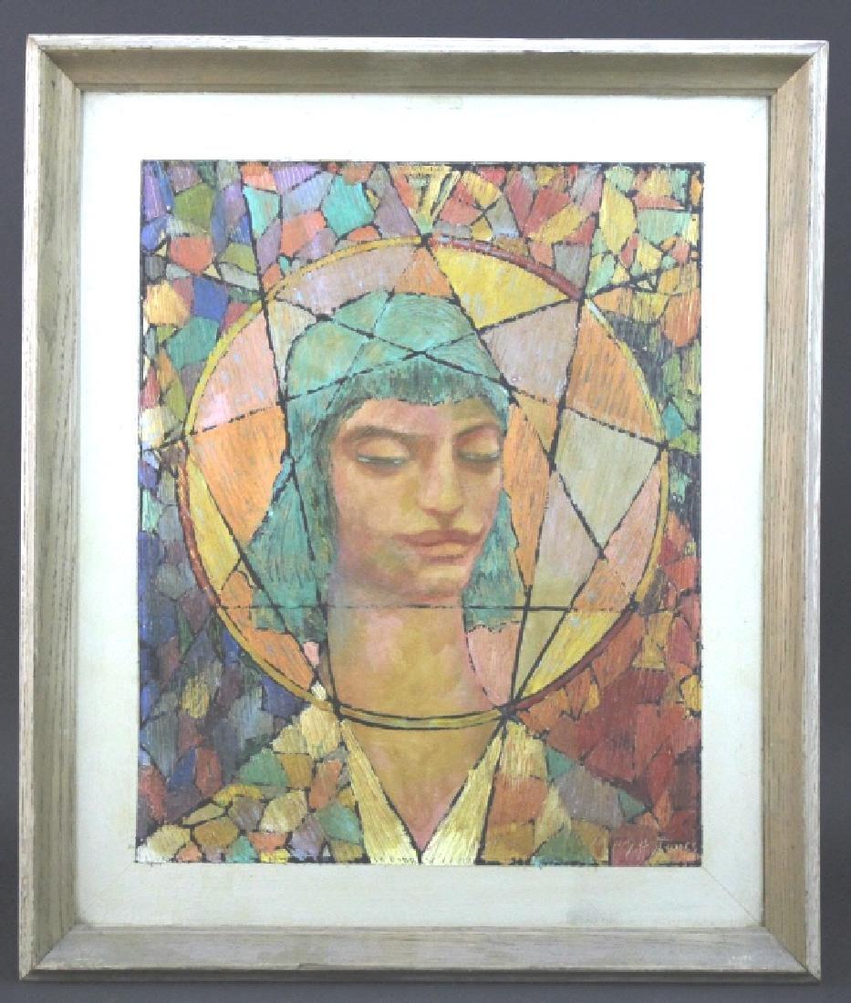 Henry Bozeman Jones (1889-1973) American Art Painting - 2