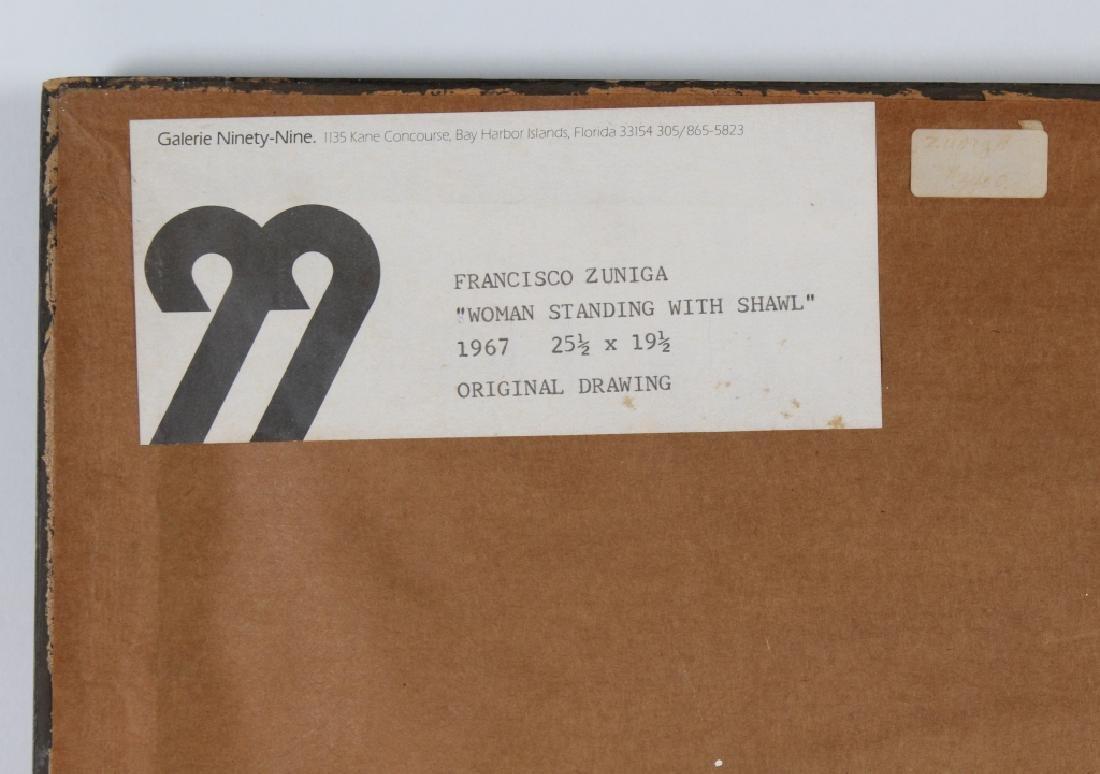 Francisco Zuniga (1912-1998) Mexican Woman Drawing - 7