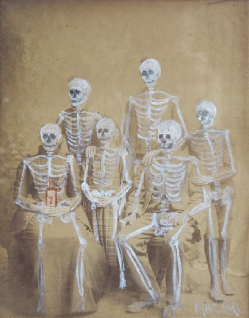 Michael Hill (b.1974) American Family Art Painting
