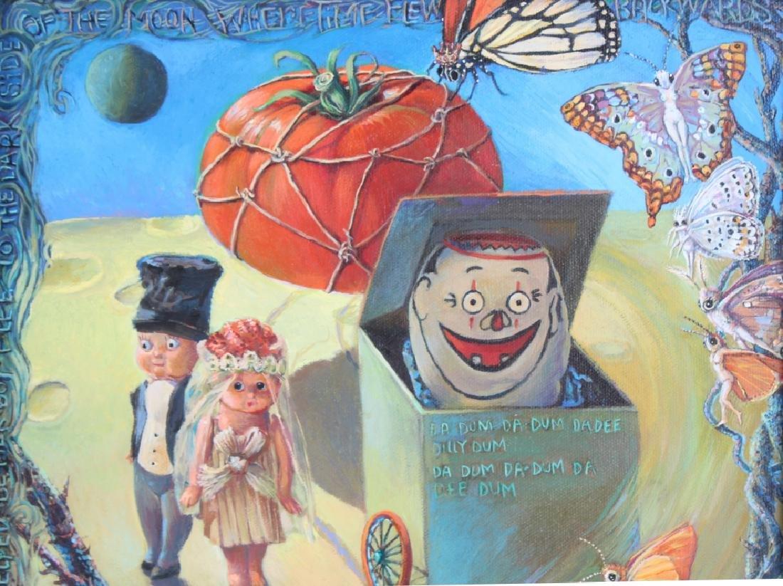 Jo Ellen Trilling American Surrealist Art Oil Painting - 3