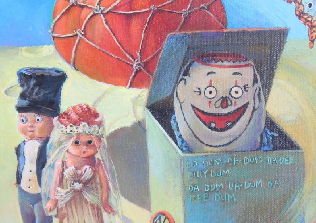 Jo Ellen Trilling American Surrealist Art Oil Painting - 5