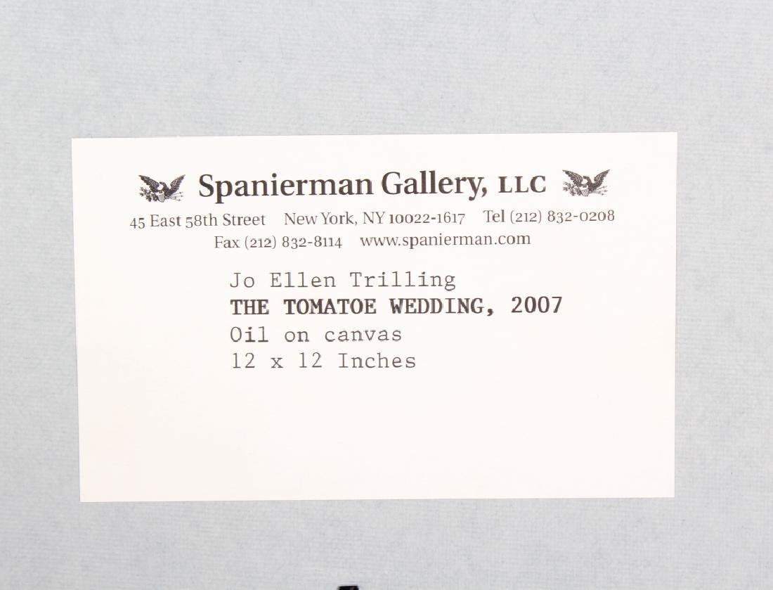 Jo Ellen Trilling American Surrealist Art Oil Painting - 7