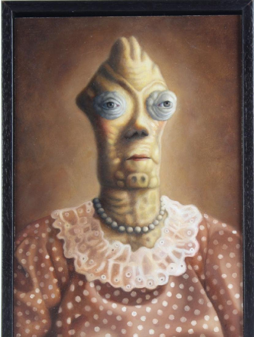 Amy Hill American MARGE Portrait Art Oil Painting - 2