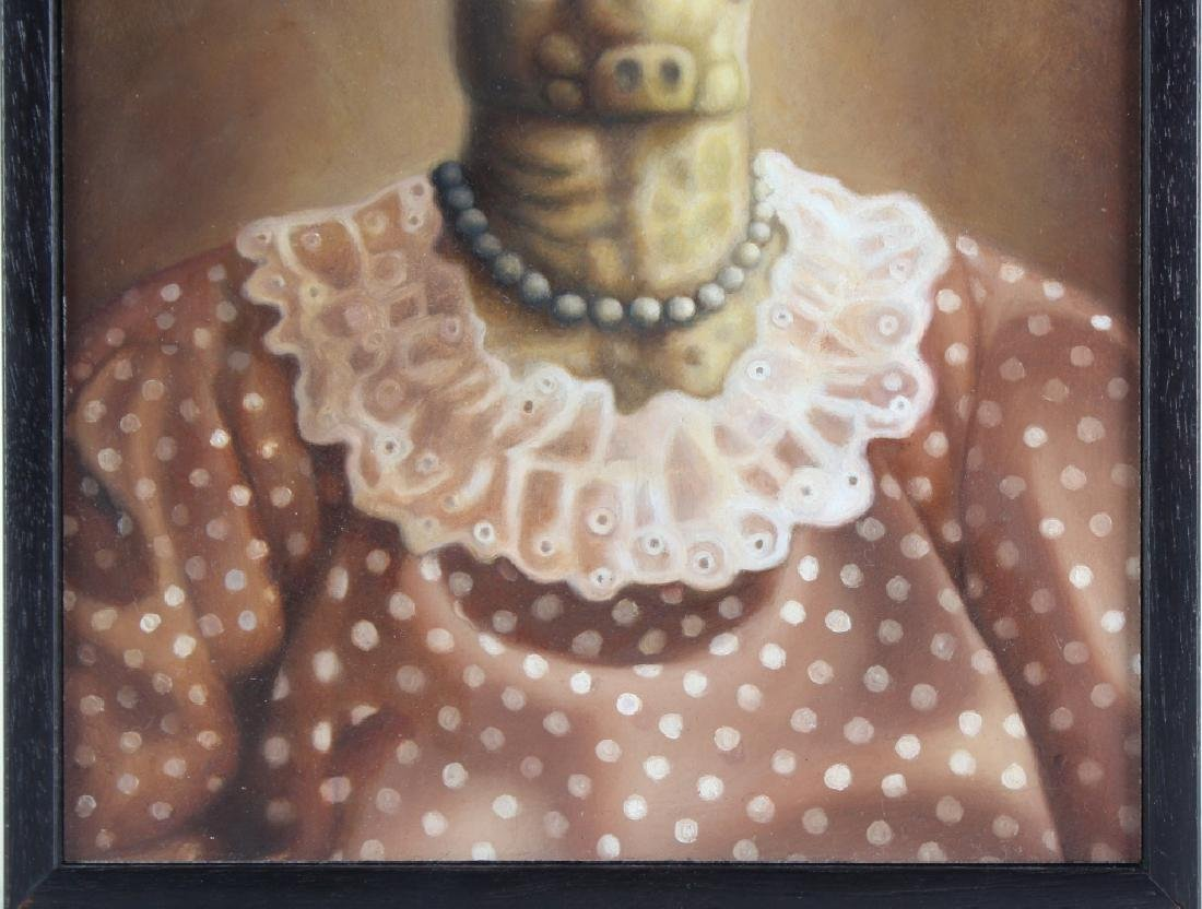 Amy Hill American MARGE Portrait Art Oil Painting - 4