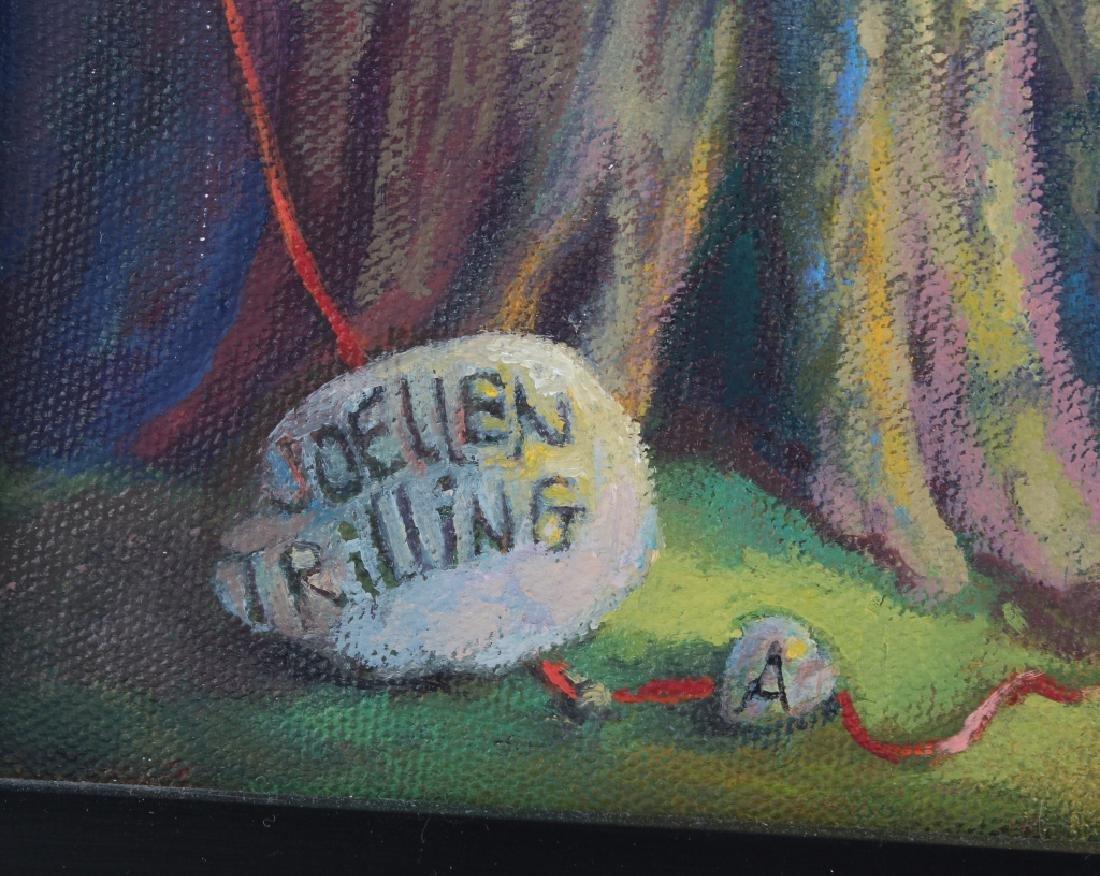 Jo Ellen Trilling American Surreal Dogs Painting - 6