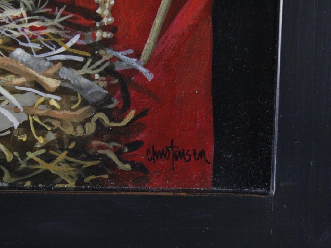 James Christensen American Surrealist Art Oil Painting - 3