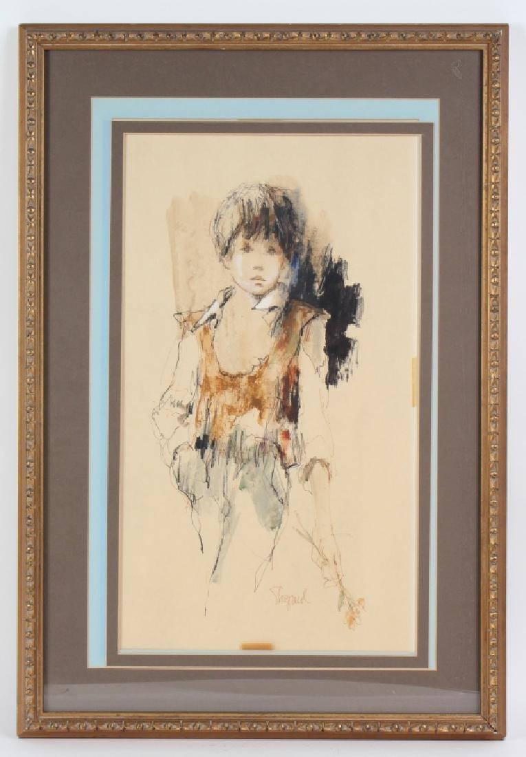 Richard Shepard (1921-2000) Portrait Art Painting