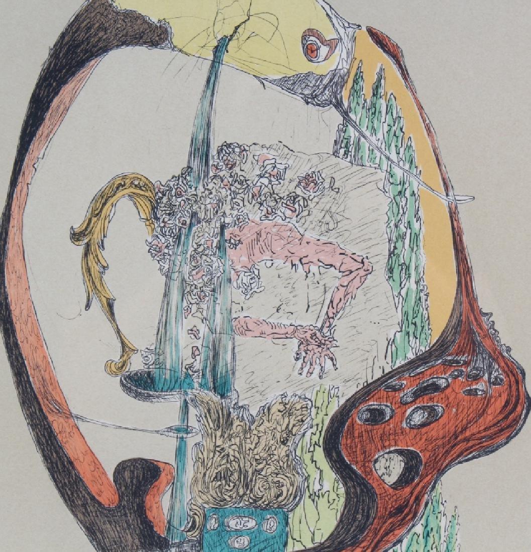 Salvador Dali L/E Surreal Litho Lithograph SIGNED - 3