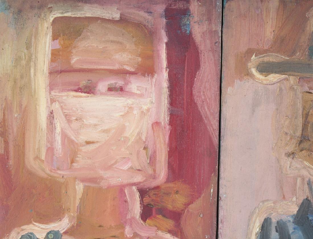 Patricia Sloane b.1934 American Art Portrait Paintings - 2