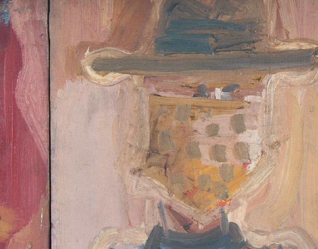 Patricia Sloane b.1934 American Art Portrait Paintings - 3