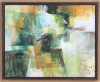 J Gerard Singh Abstract Art Modern Oil Painting SIGNED