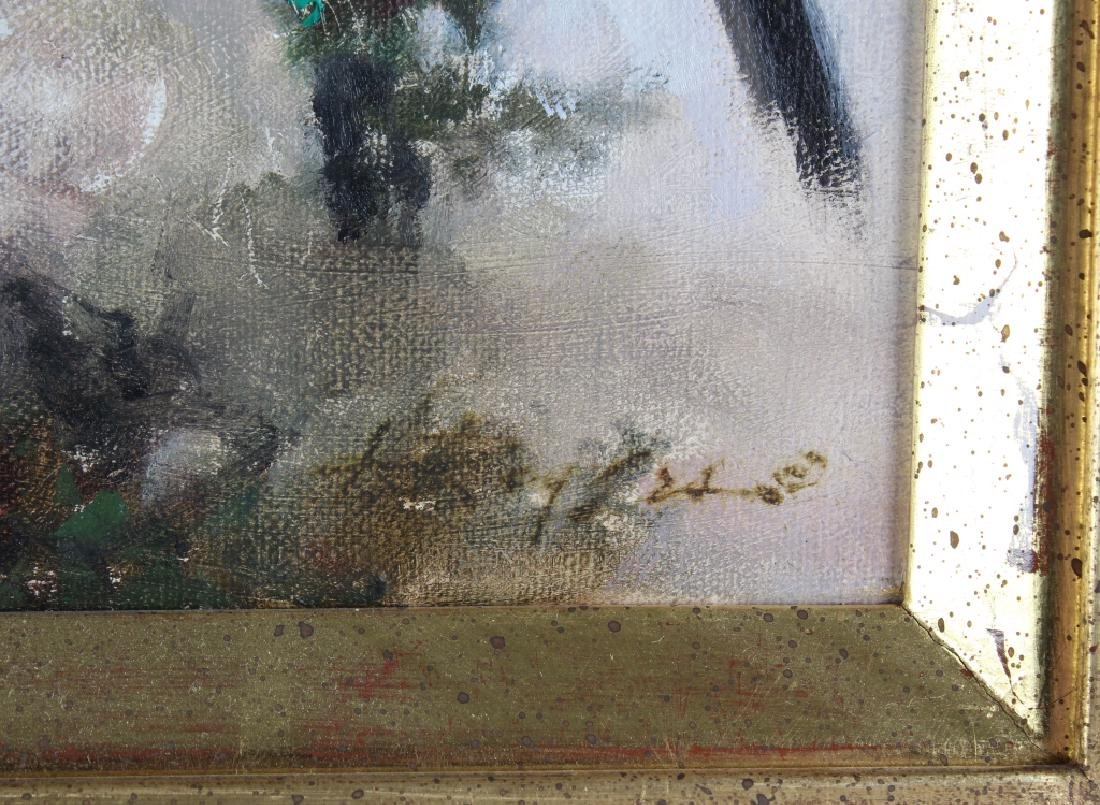 Howard Rogers American Art Winter Snow Birds Painting - 5