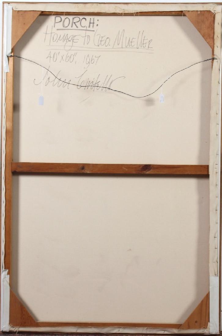 John Civitello b1939 American Mueller Art Oil Painting - 7