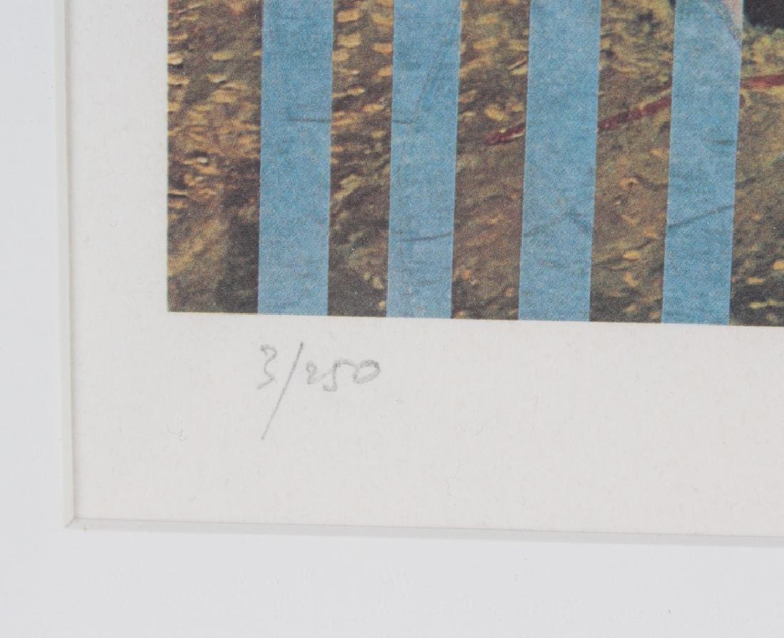 Pencil Signed L/E Surreal Lithograph MYSTERY ART - 3