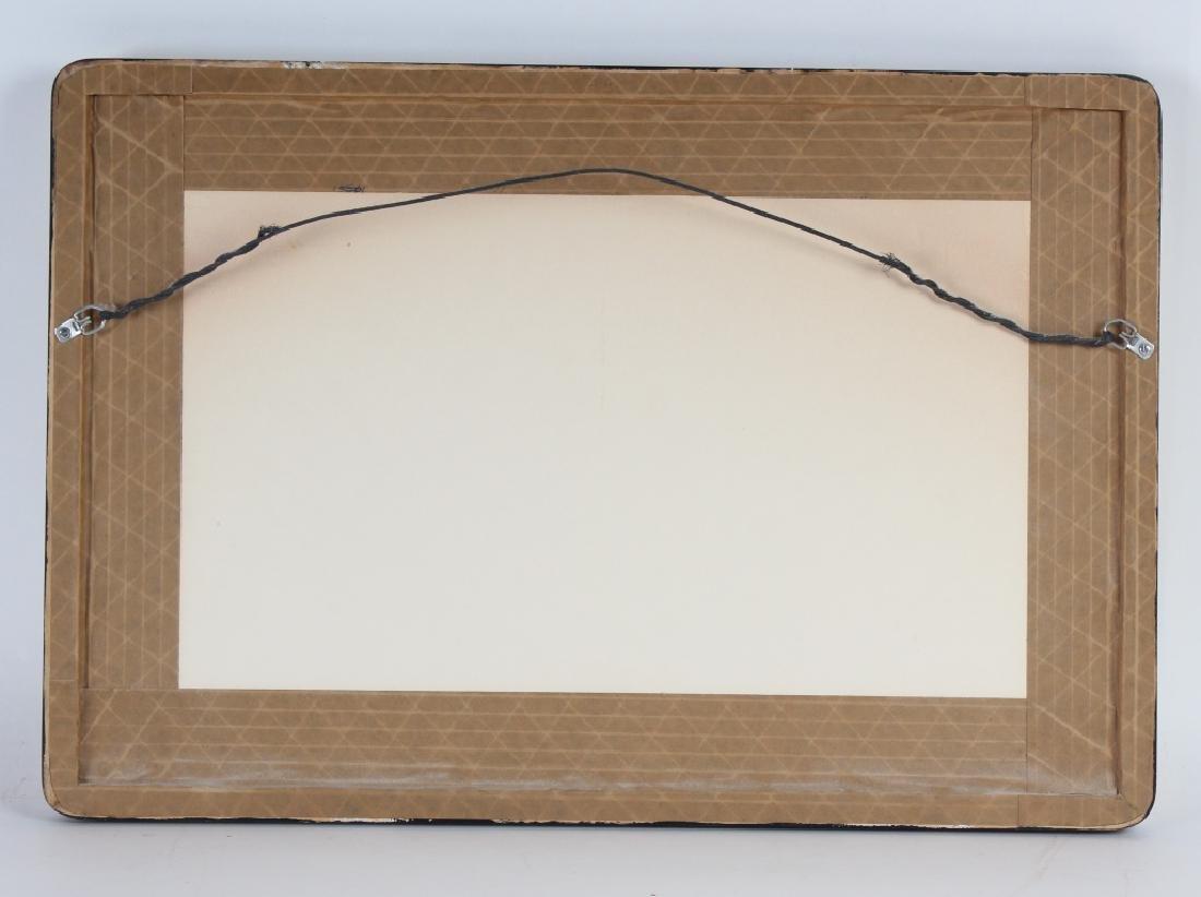 Pencil Signed L/E Surreal Lithograph MYSTERY ART - 5