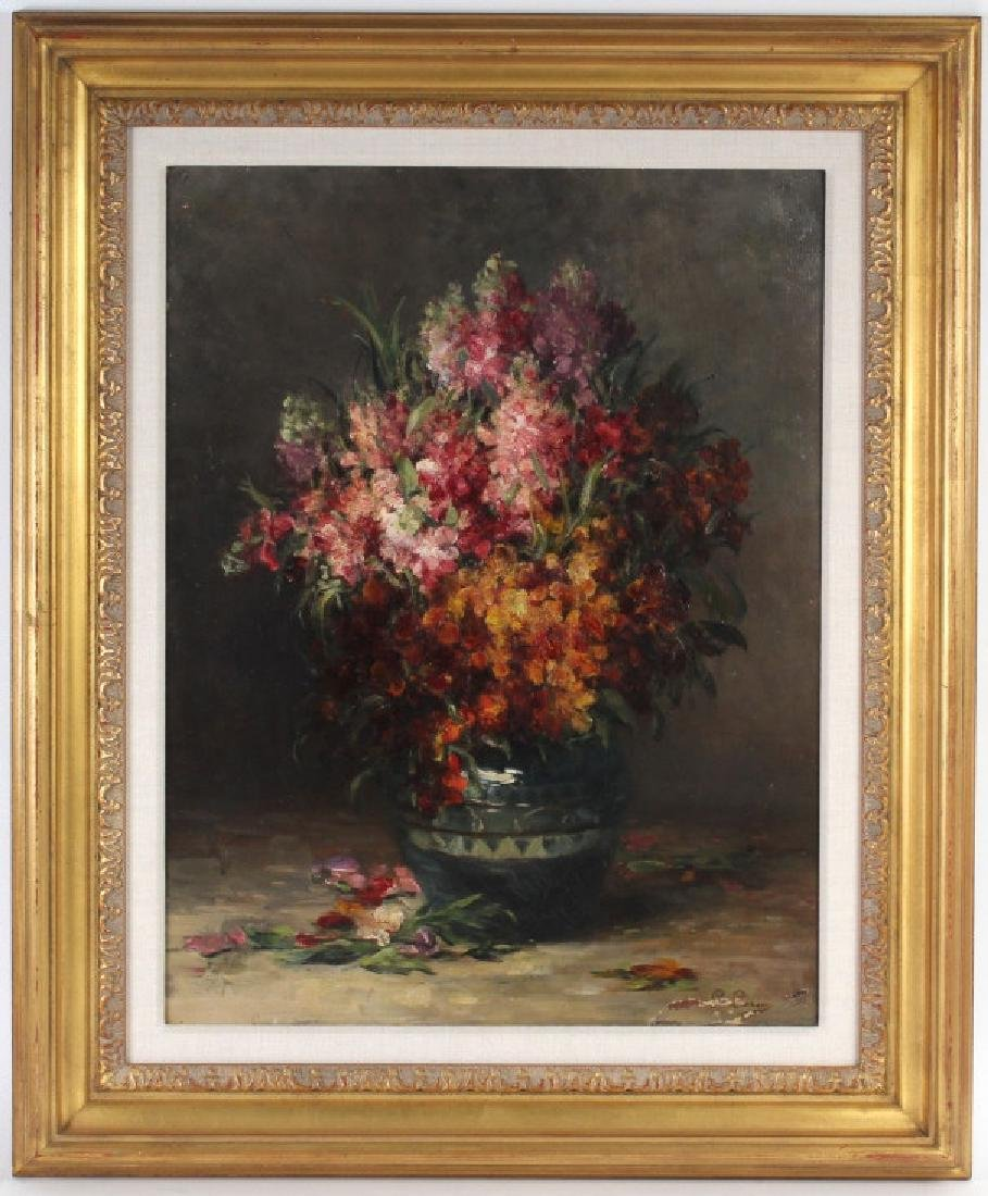 Impressionist Floral Still Life Painting MYSTERY ART ?