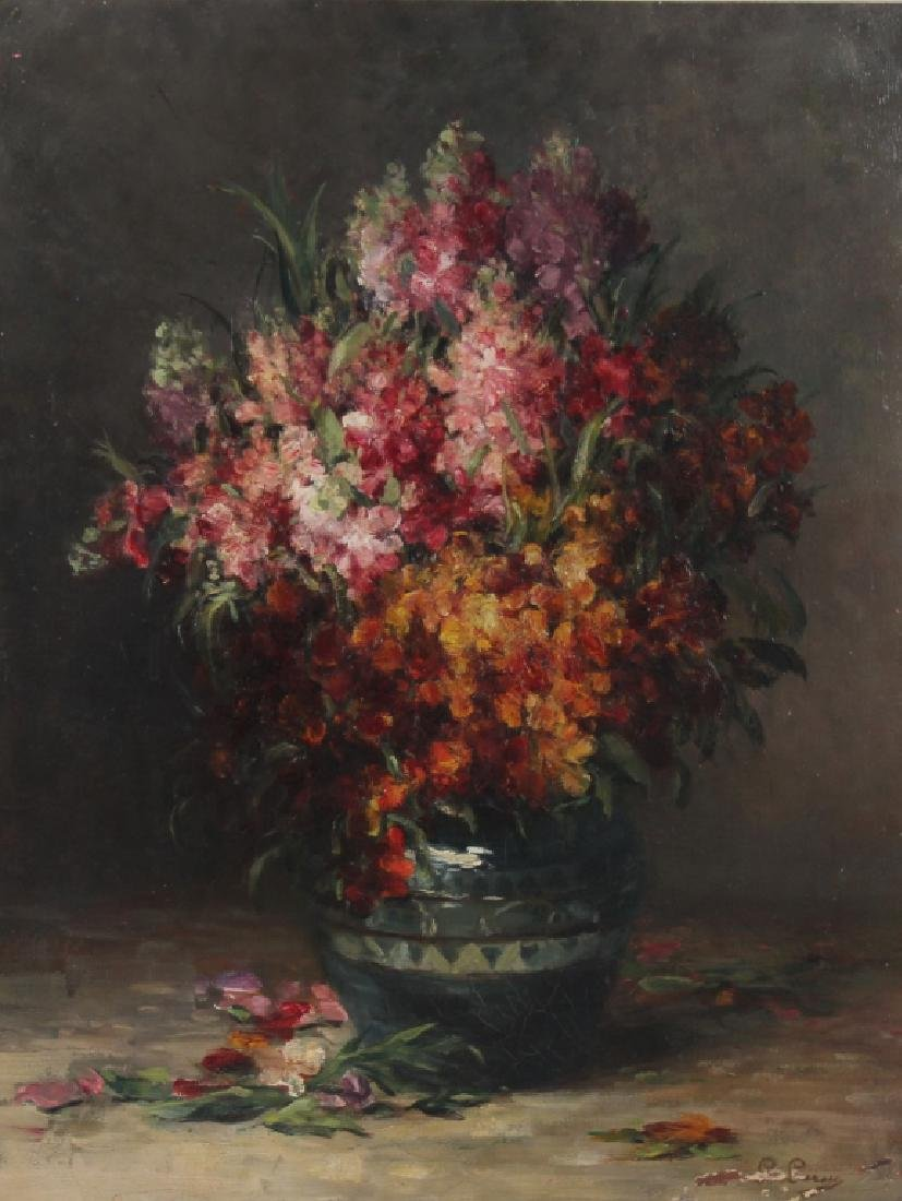 Impressionist Floral Still Life Painting MYSTERY ART ? - 2