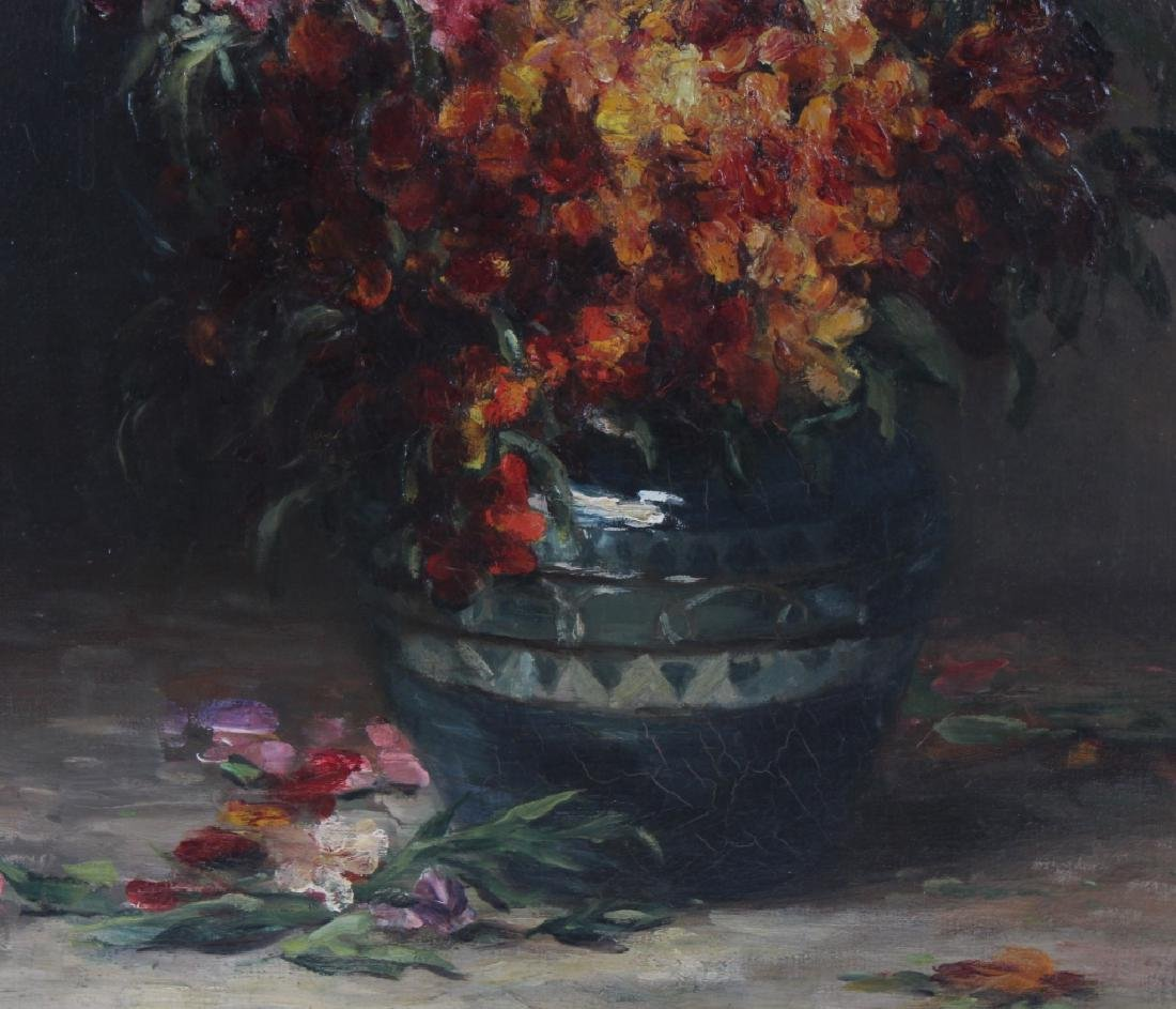 Impressionist Floral Still Life Painting MYSTERY ART ? - 4