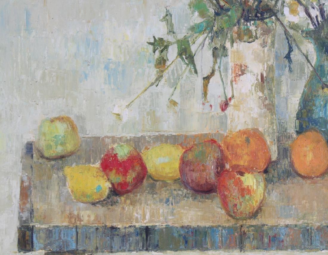 Gerard Passet 1936- French Still Life Oil Art Painting - 3