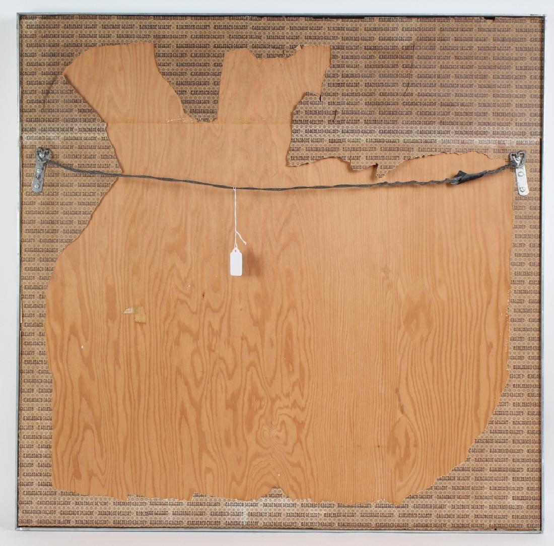 Indian Wood Inlay Elephant & Royals Wall Art Panel - 6