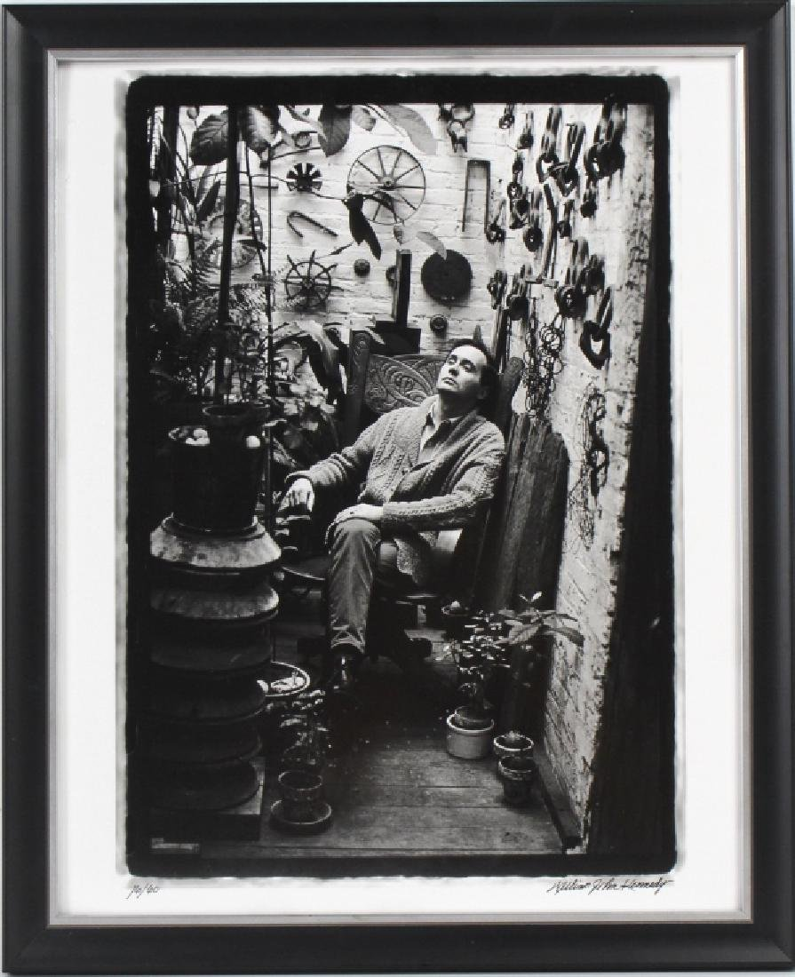 William Kennedy Photo Robert Indiana In Plant Room