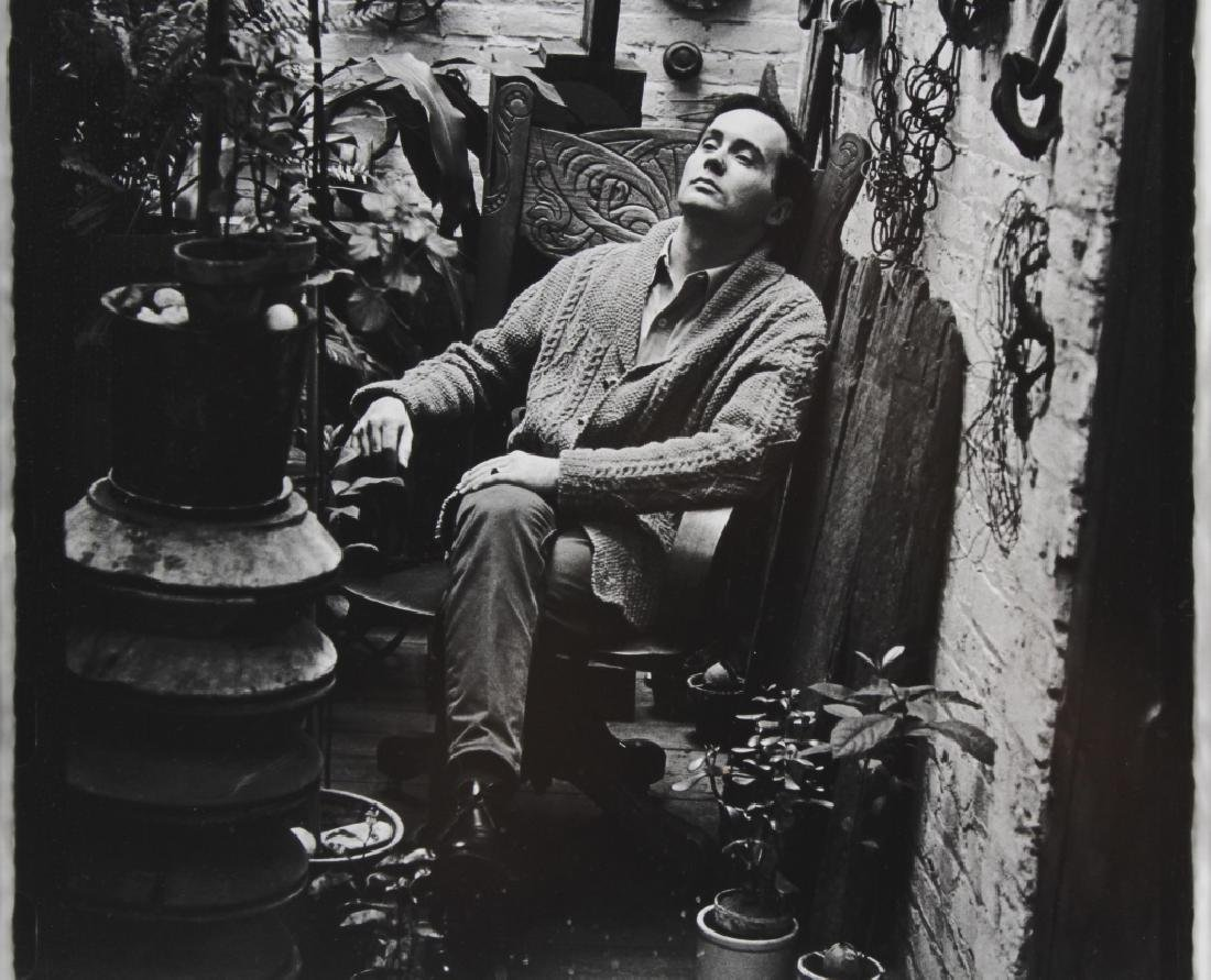 William Kennedy Photo Robert Indiana In Plant Room - 5