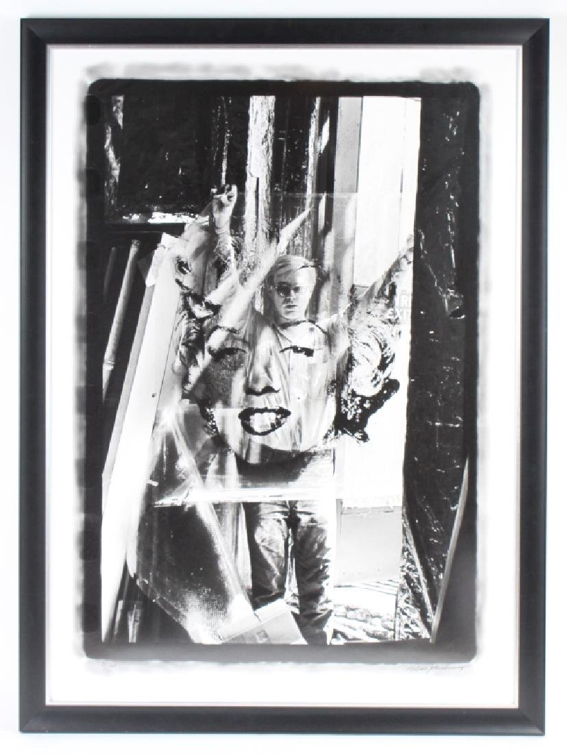 William Kennedy Andy Warhol & Marilyn Monroe Art Photo