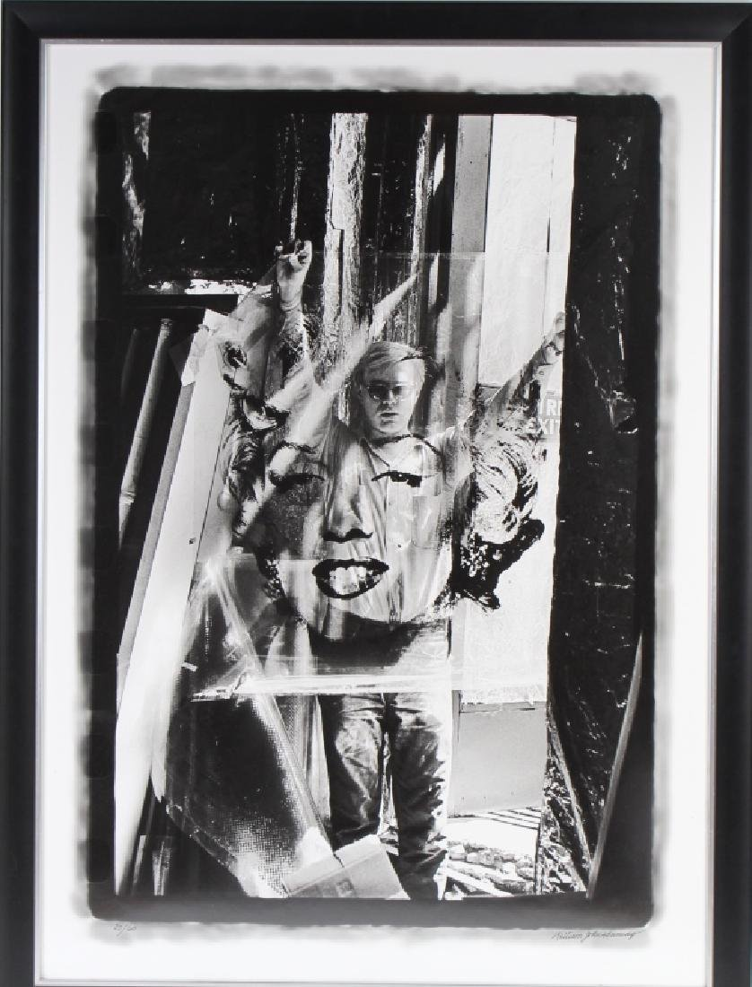 William Kennedy Andy Warhol & Marilyn Monroe Art Photo - 2
