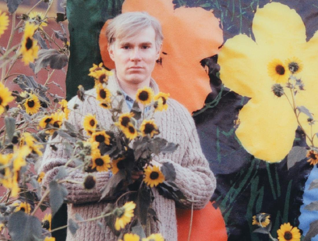 Andy Warhol Flowers Photograph Art by William Kennedy - 2