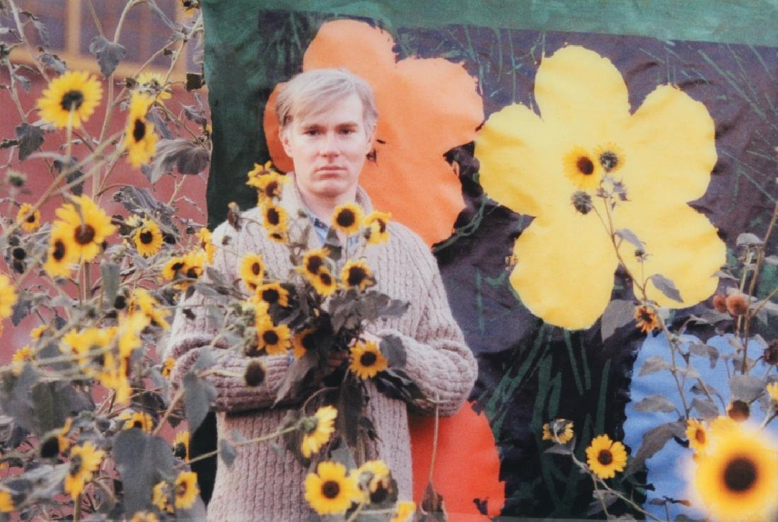 Andy Warhol Flowers Photograph Art by William Kennedy - 5