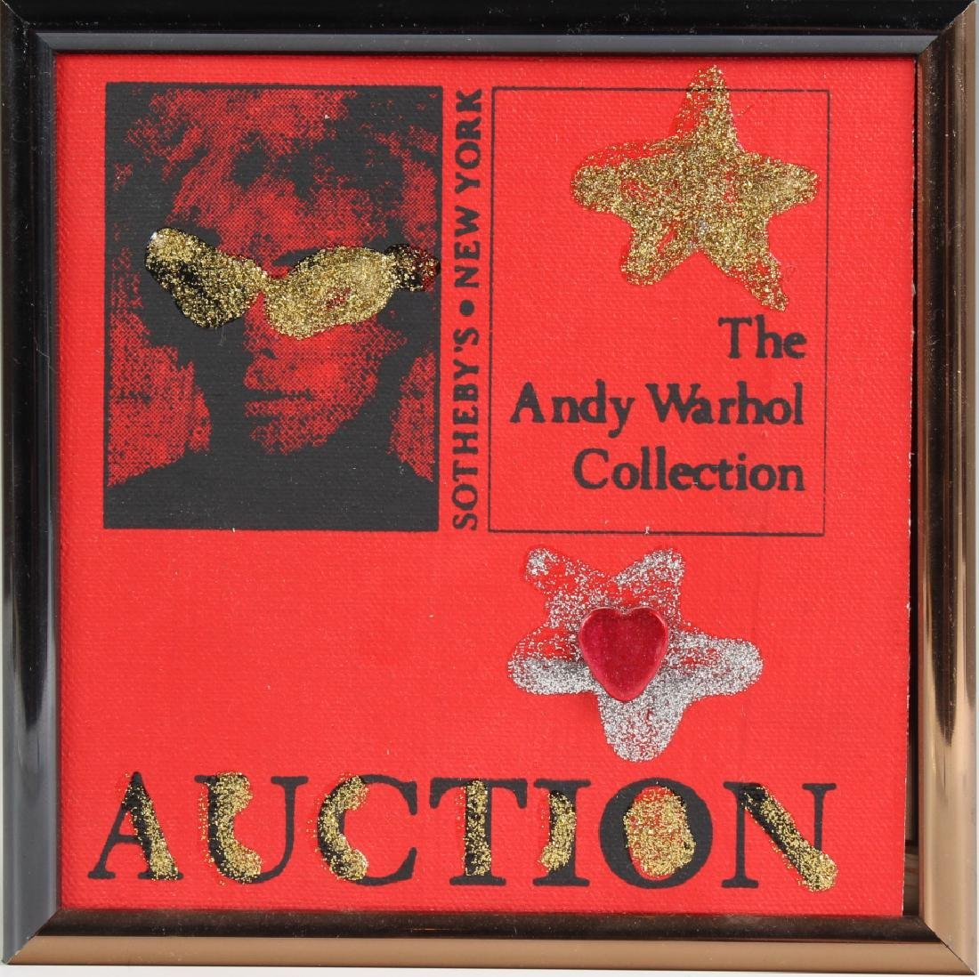 HEDY KLINEMAN Andy Warhol Auction Pop Art Painting