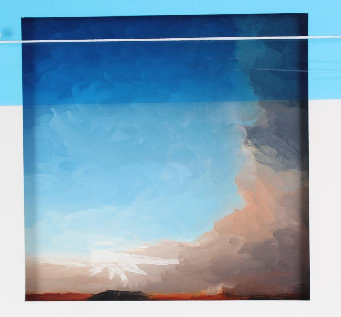 Richard Rowan Solace Reverse Oil On Glass Painting - 6