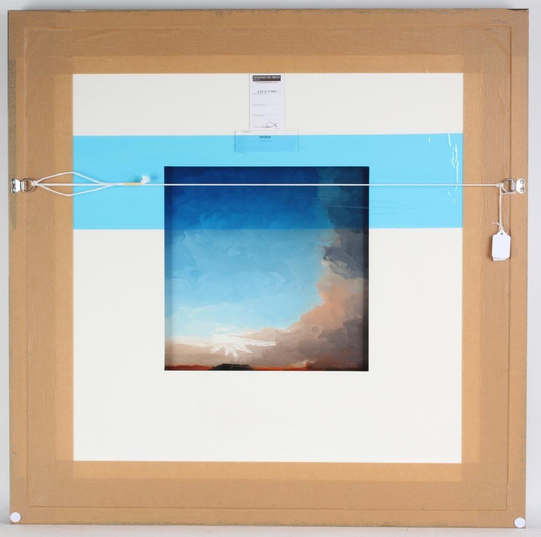 Richard Rowan Solace Reverse Oil On Glass Painting - 7
