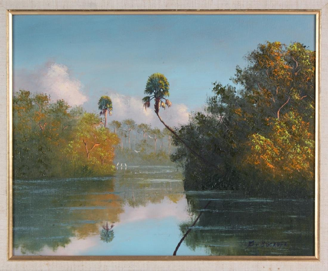 George Buckner Florida Highwaymen Landscape Painting