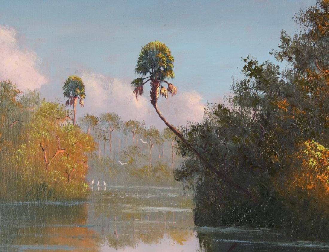 George Buckner Florida Highwaymen Landscape Painting - 3