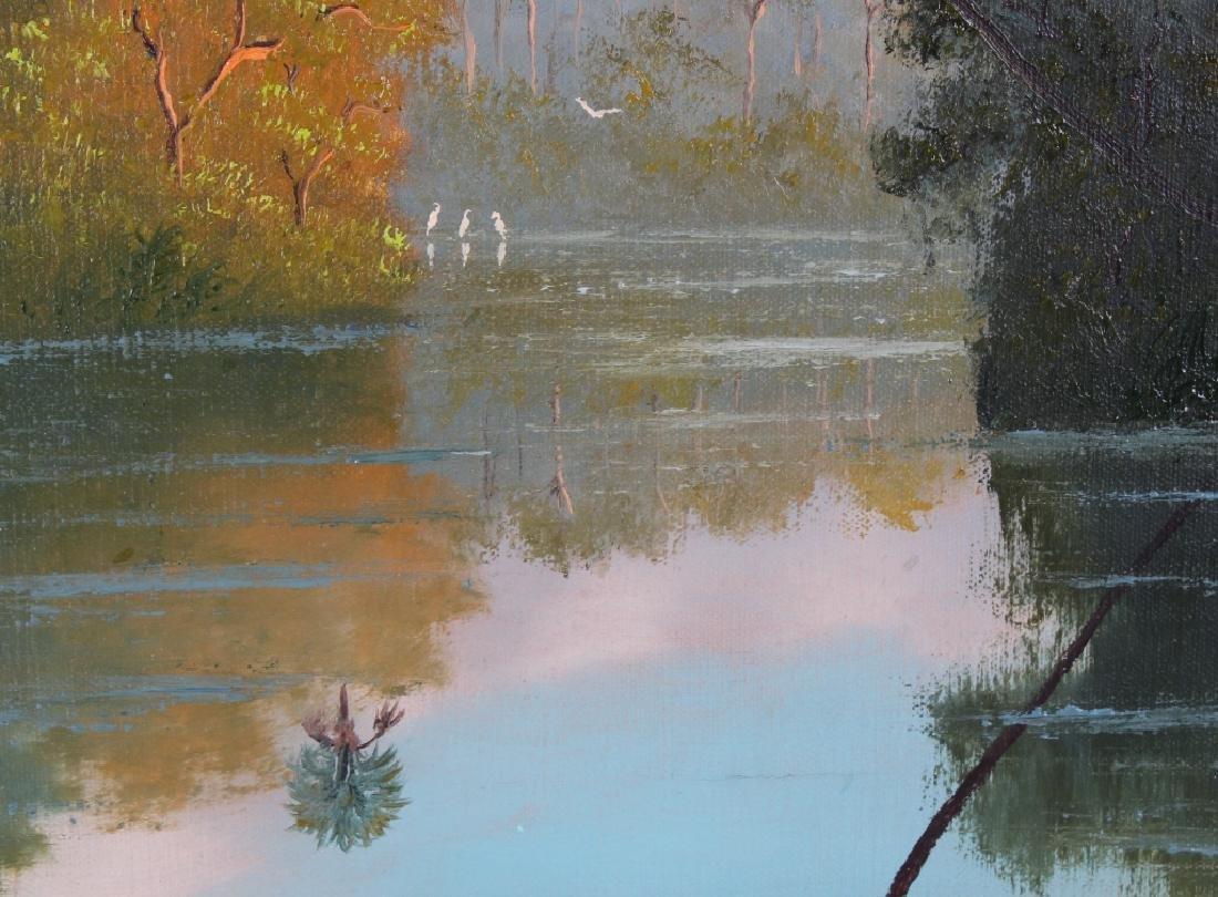 George Buckner Florida Highwaymen Landscape Painting - 4