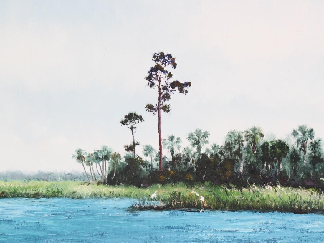 Sam Vinikoff b.1919 American Florida Landscape Painting - 3