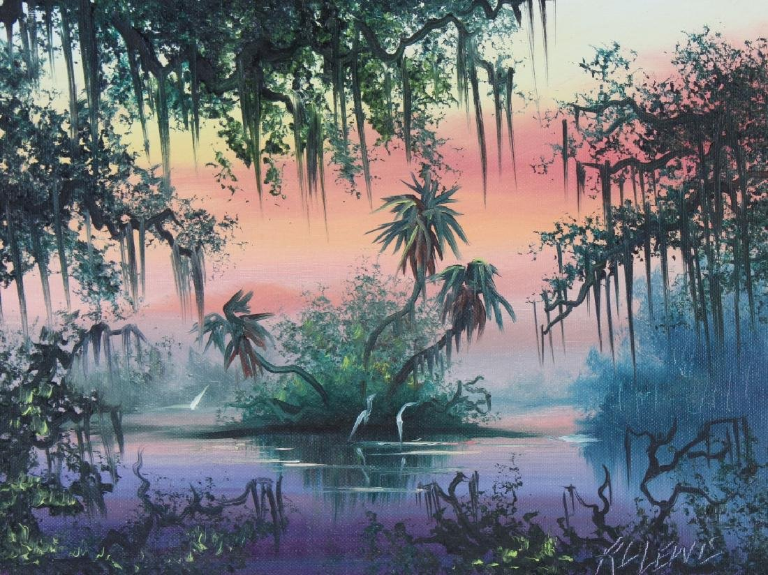 Robert Lewis American Florida Art Highwaymen Painting - 2
