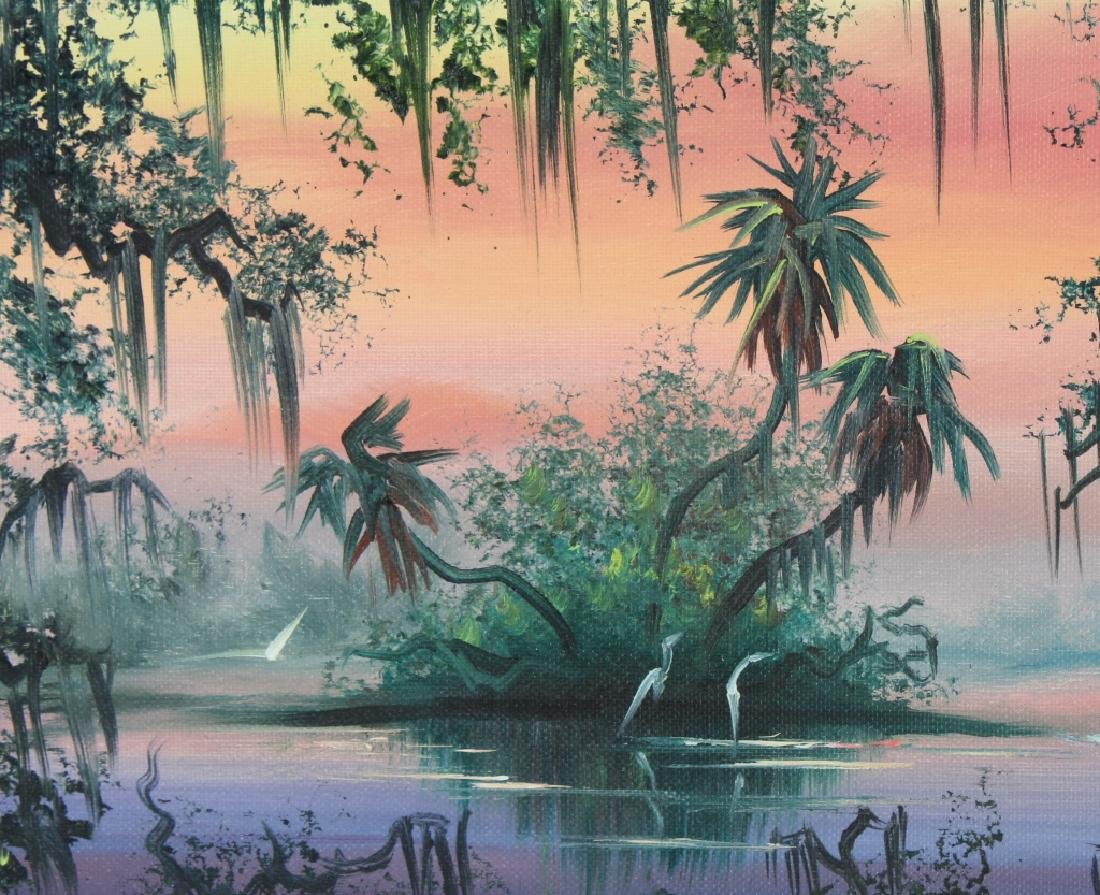 Robert Lewis American Florida Art Highwaymen Painting - 3