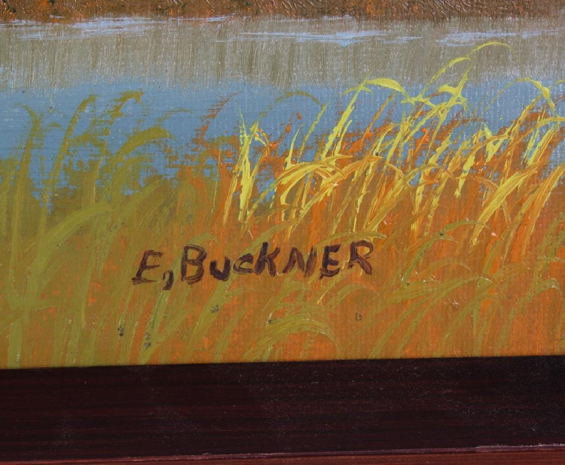 Ellis Buckner FL Highwaymen Landscape Art Oil Painting - 4