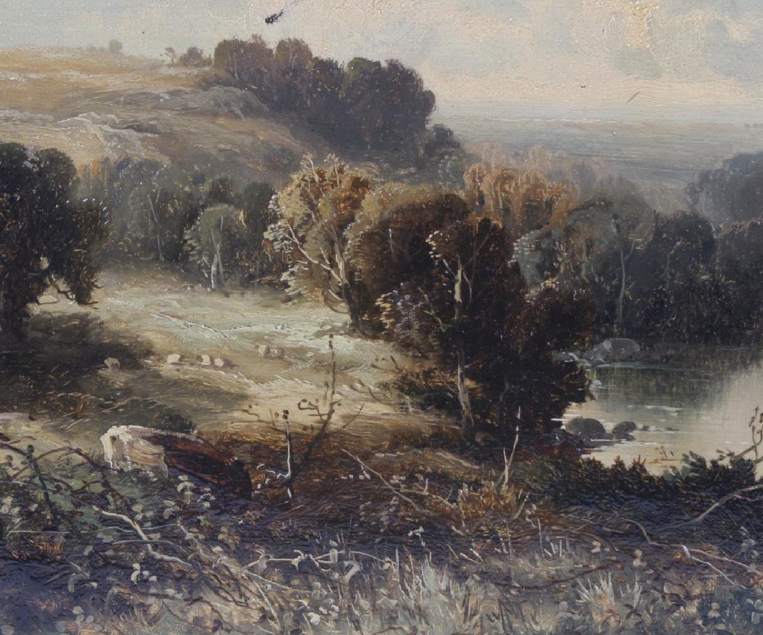 Tom Seymour (1844-1904) UK Landscape Art Oil Painting - 3