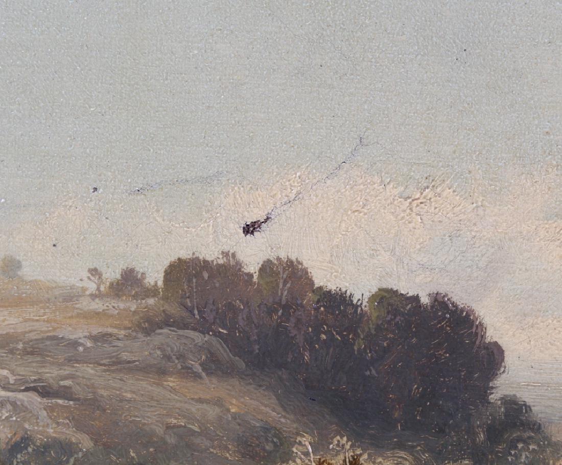 Tom Seymour (1844-1904) UK Landscape Art Oil Painting - 4