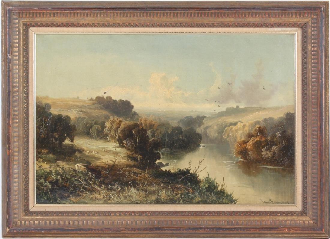 Tom Seymour (1844-1904) UK Landscape Art Oil Painting - 7