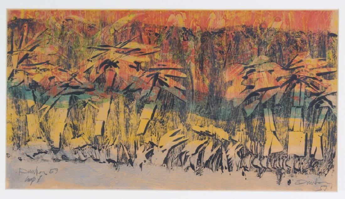 Tropical Landscape Painting dated '59 MYSTERY ART - 2