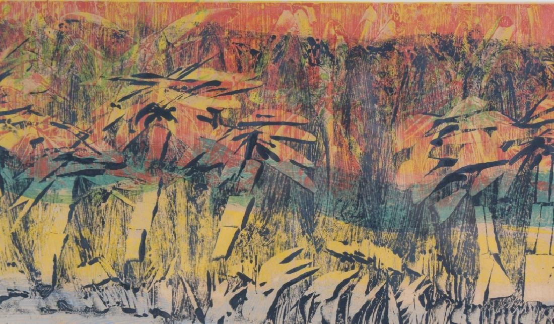 Tropical Landscape Painting dated '59 MYSTERY ART - 5