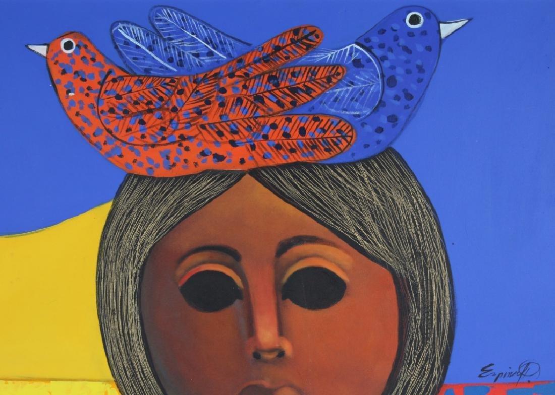 """ESPINA P """"Subrialiomo"""" Art Oil Painting ORIGINAL - 3"""