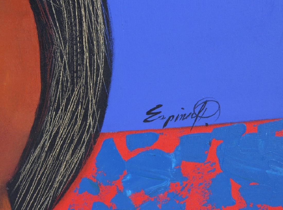 """ESPINA P """"Subrialiomo"""" Art Oil Painting ORIGINAL - 4"""