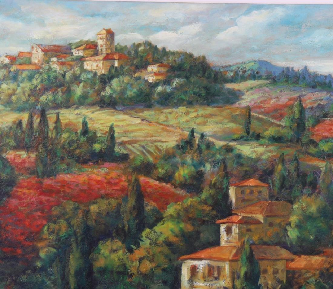 Signed Italian Landscape Oil Painting MYSTERY ART - 2