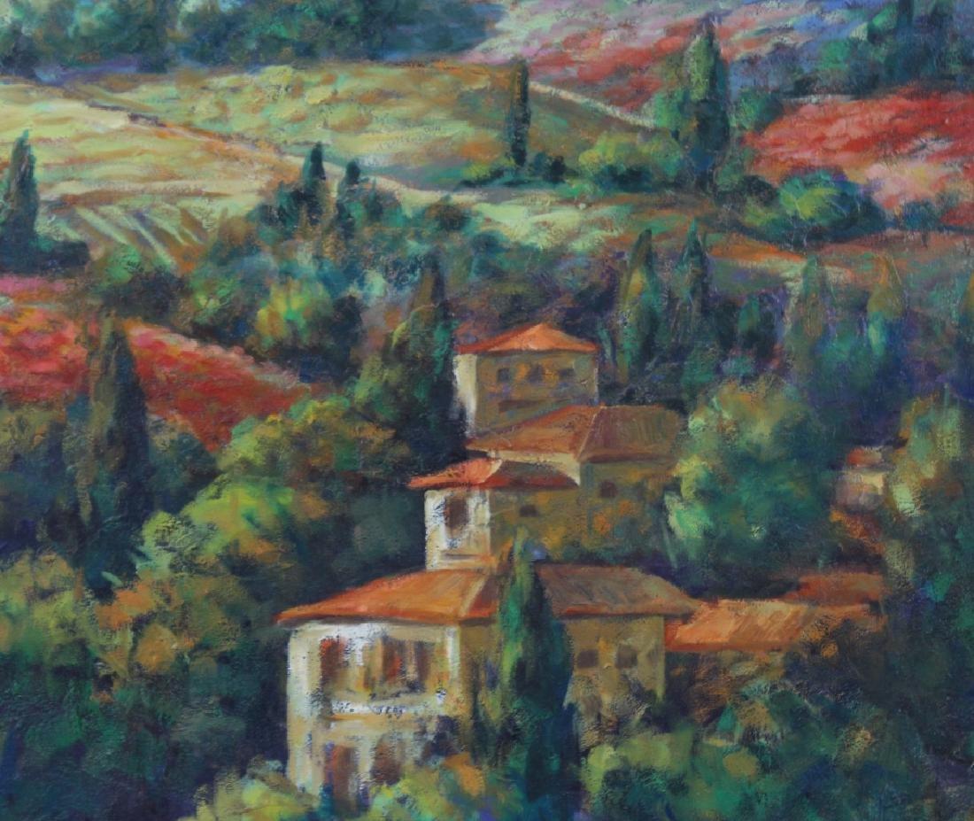 Signed Italian Landscape Oil Painting MYSTERY ART - 3